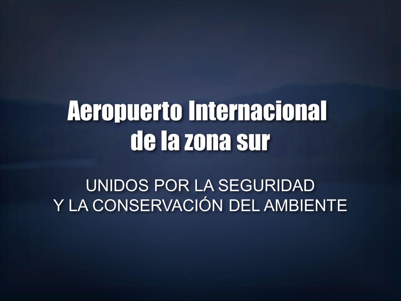 Aeropuerto Internacional de la zona sur