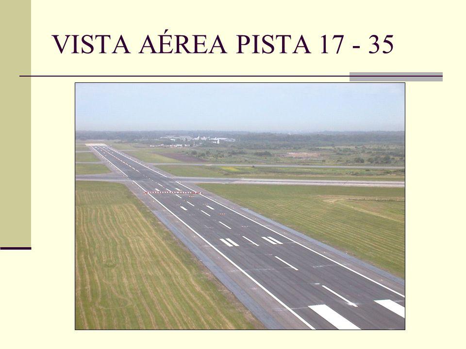 VISTA AÉREA PISTA 17 - 35