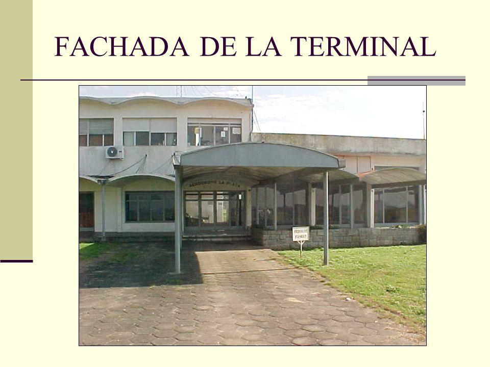 FACHADA DE LA TERMINAL