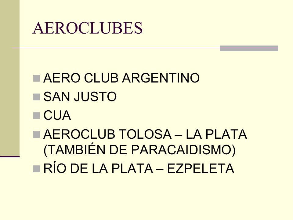 AEROCLUBES AERO CLUB ARGENTINO SAN JUSTO CUA