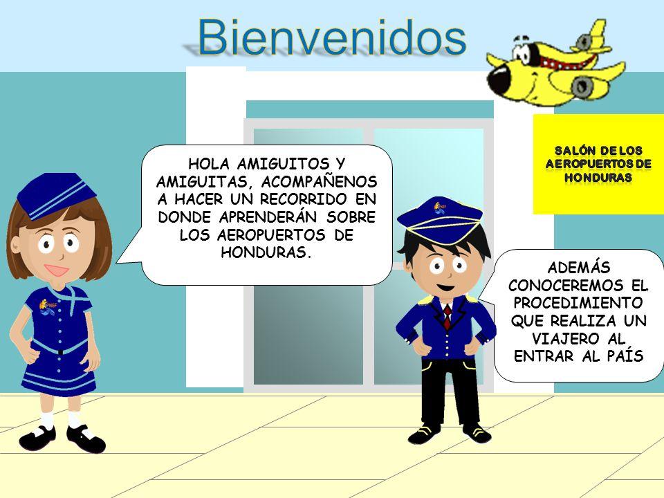 Salón de los aeropuertos de honduras