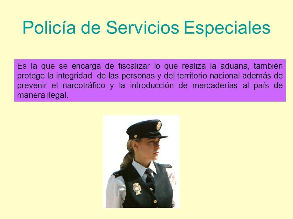 Policía de Servicios Especiales