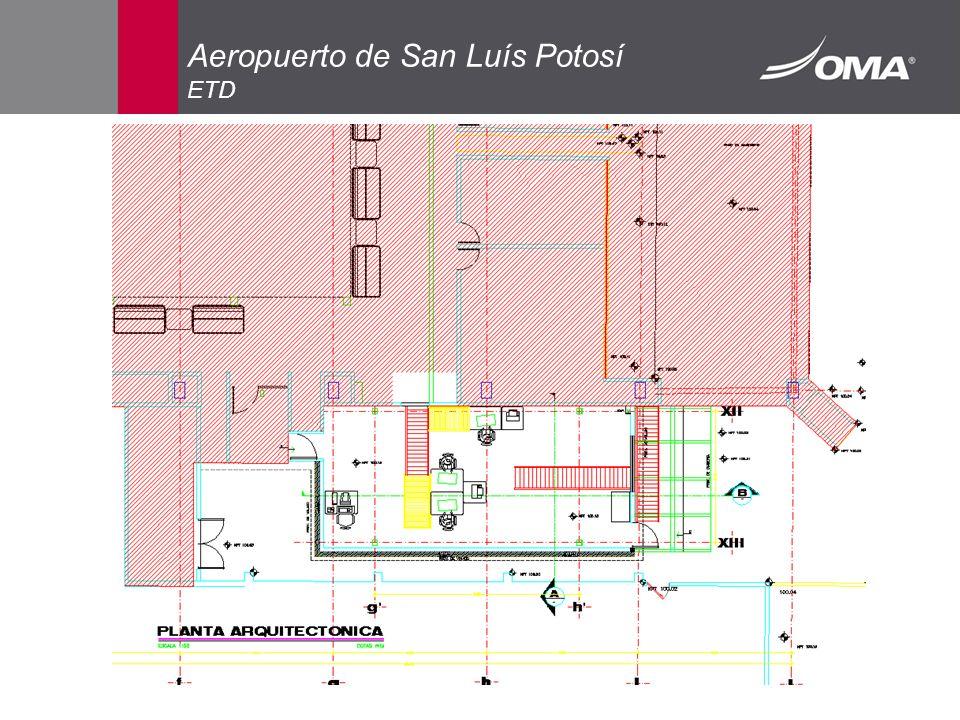 Aeropuerto de San Luís Potosí ETD
