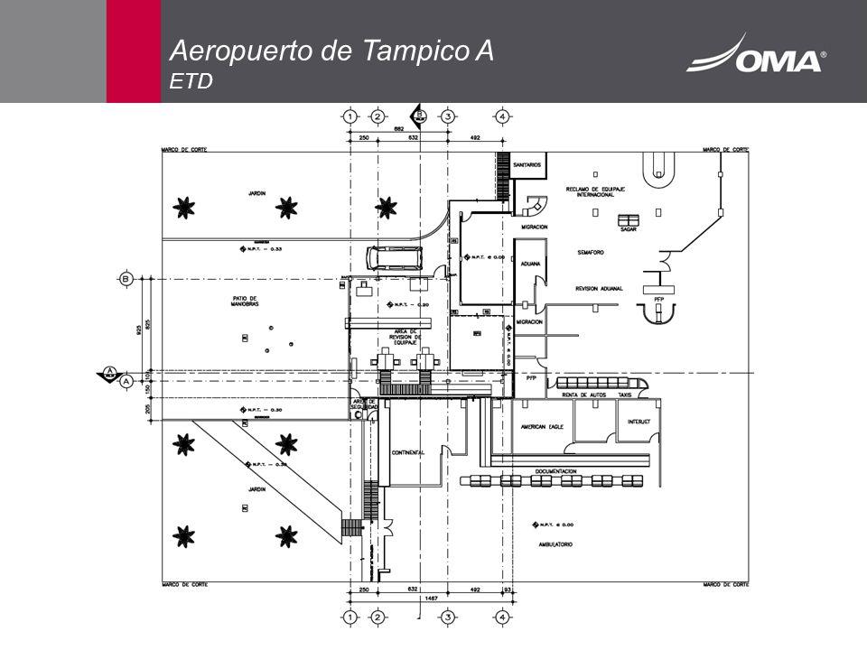 Aeropuerto de Tampico A ETD