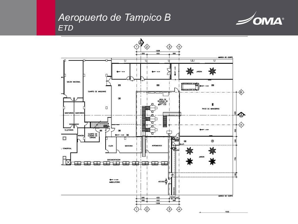 Aeropuerto de Tampico B ETD