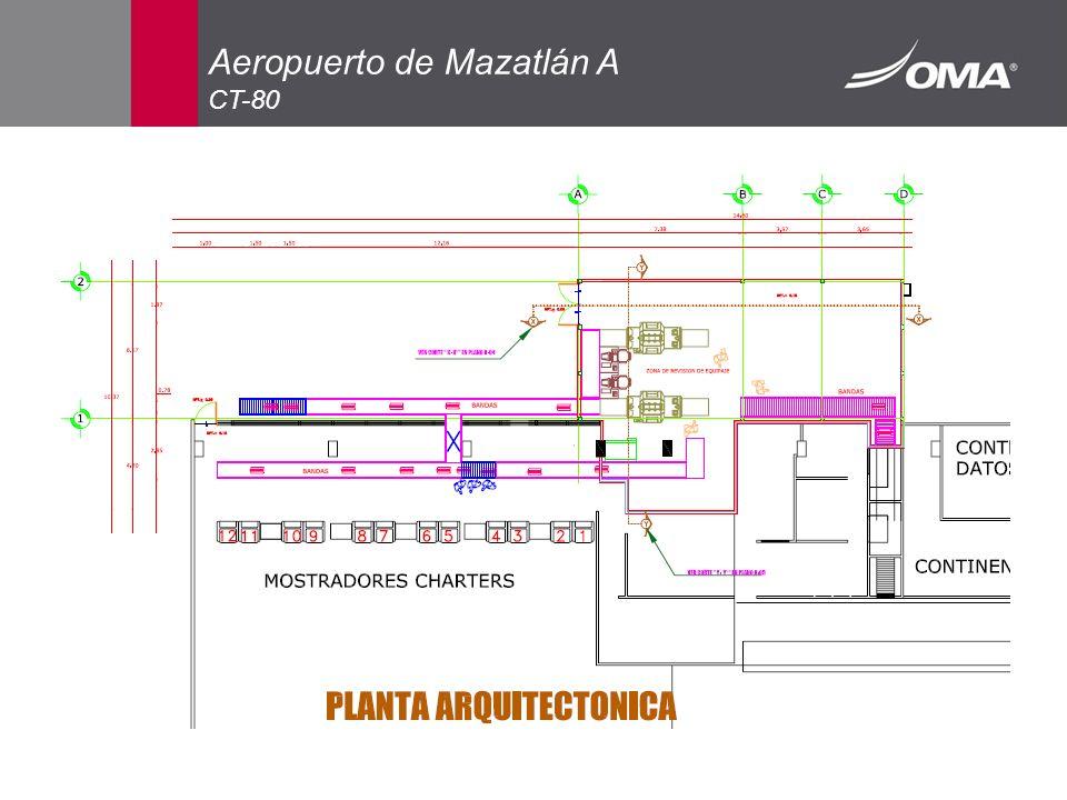 Aeropuerto de Mazatlán A CT-80