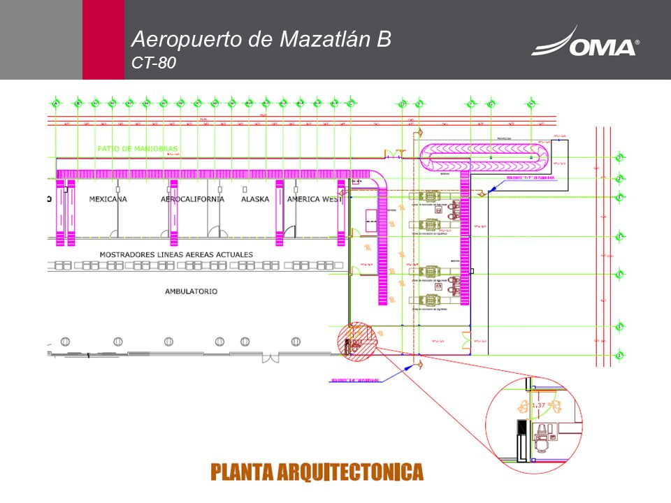 Aeropuerto de Mazatlán B CT-80