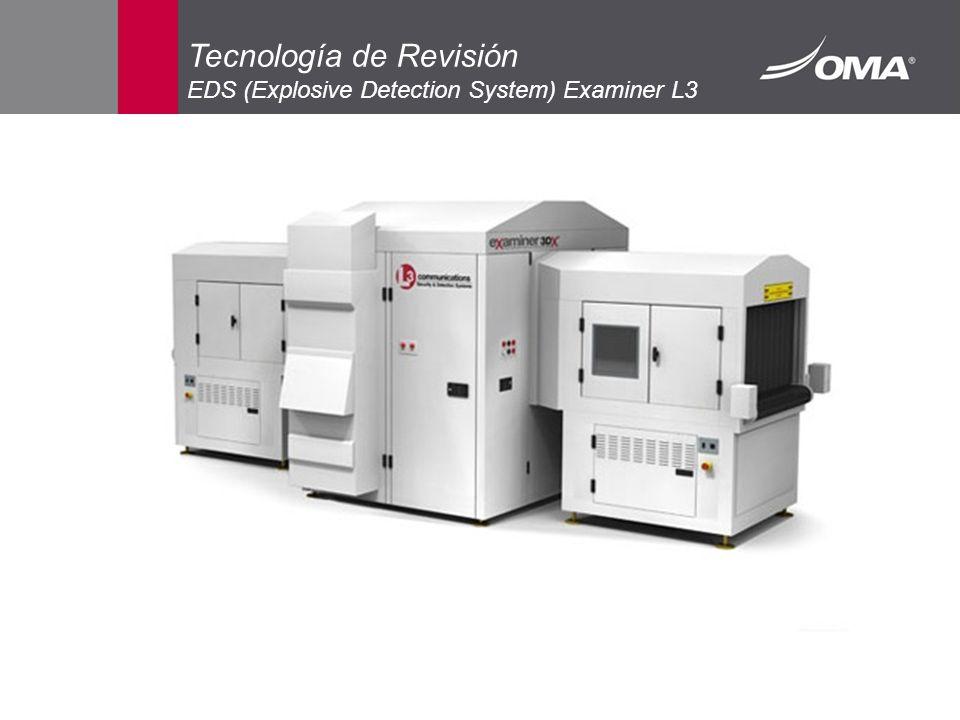 Tecnología de Revisión EDS (Explosive Detection System) Examiner L3