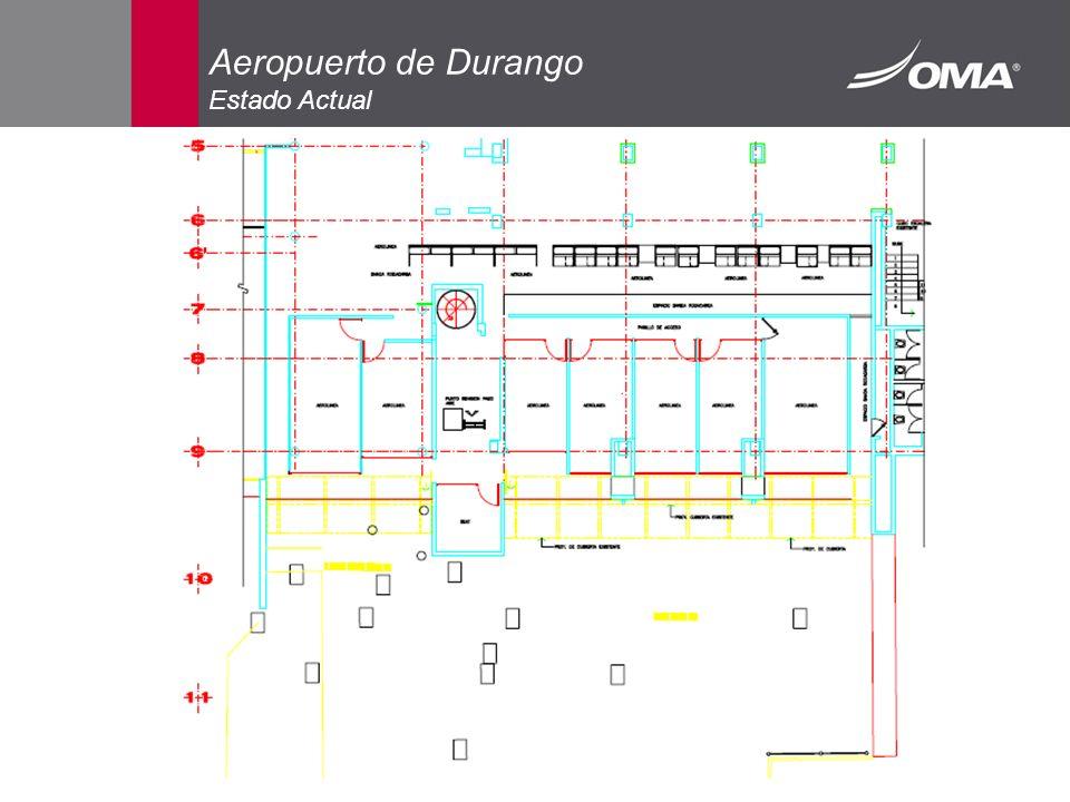 Aeropuerto de Durango Estado Actual