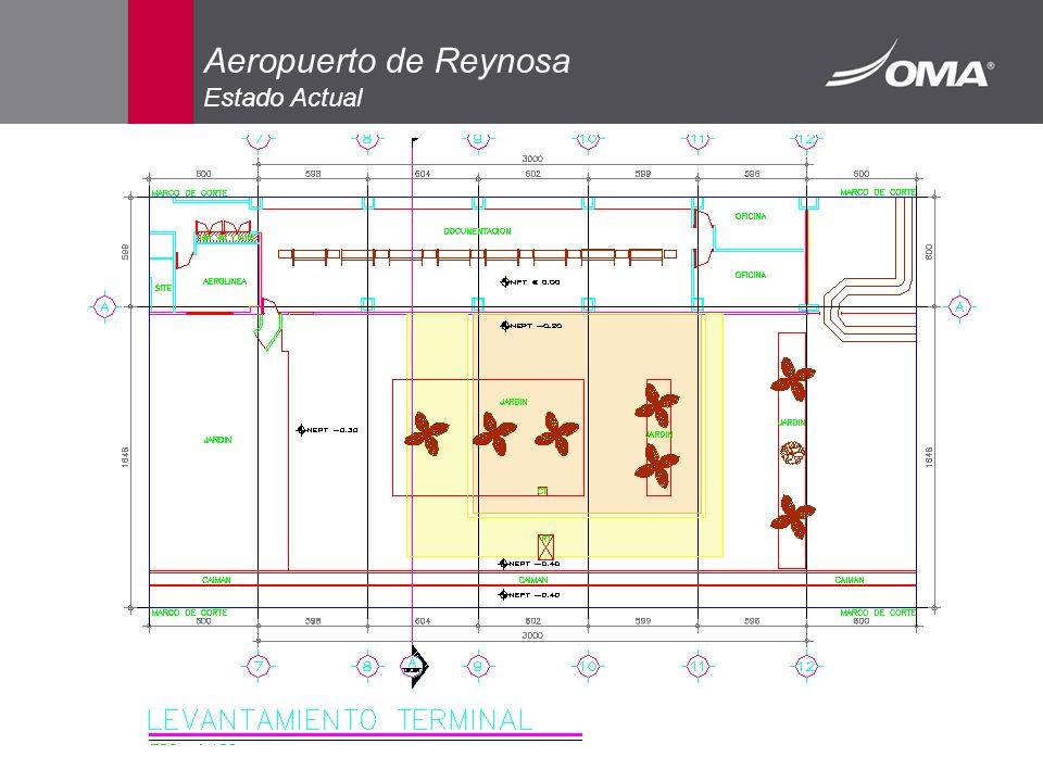 Aeropuerto de Reynosa Estado Actual