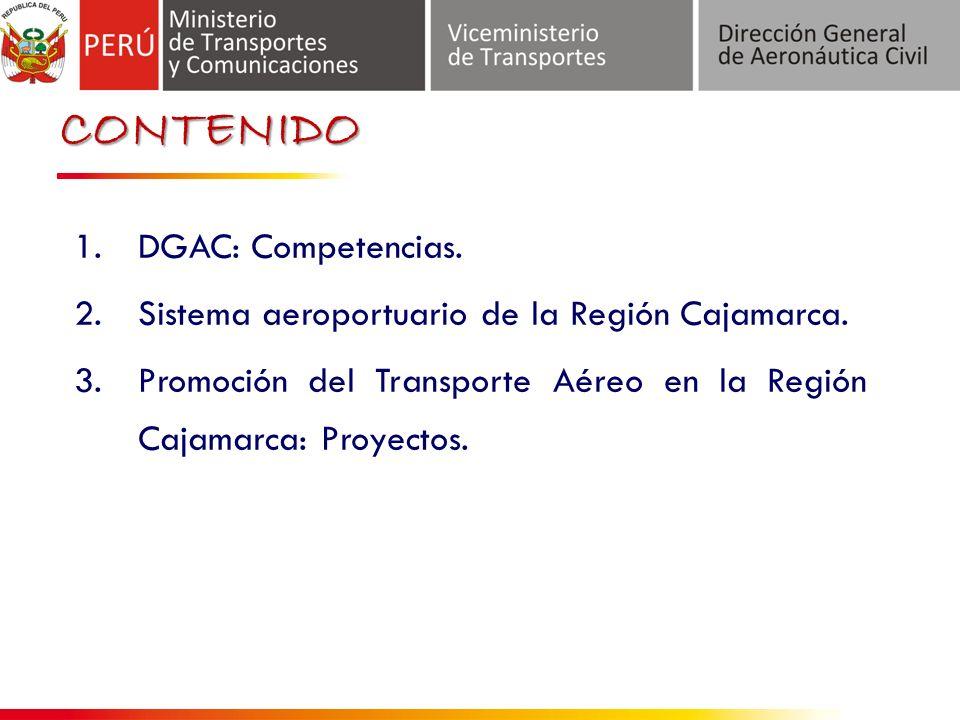 CONTENIDO DGAC: Competencias.