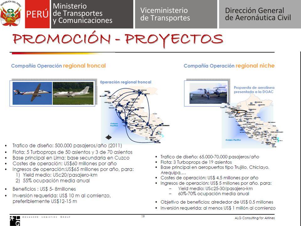 PROMOCIÓN - PROYECTOS LC Busre se consolidará como una línea aérea regional.