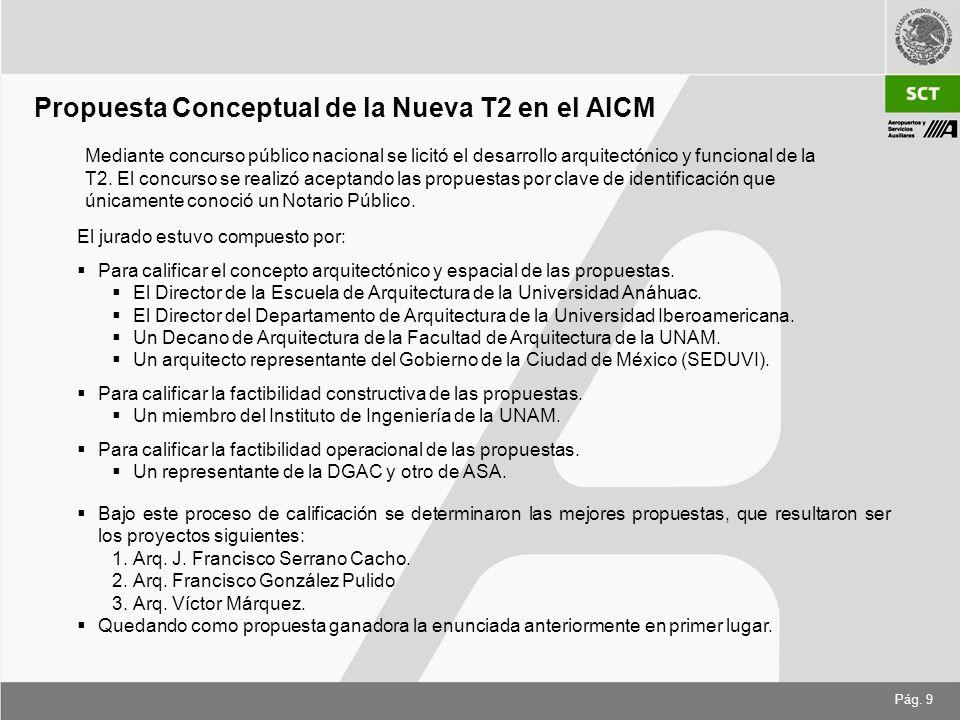 Propuesta Conceptual de la Nueva T2 en el AICM