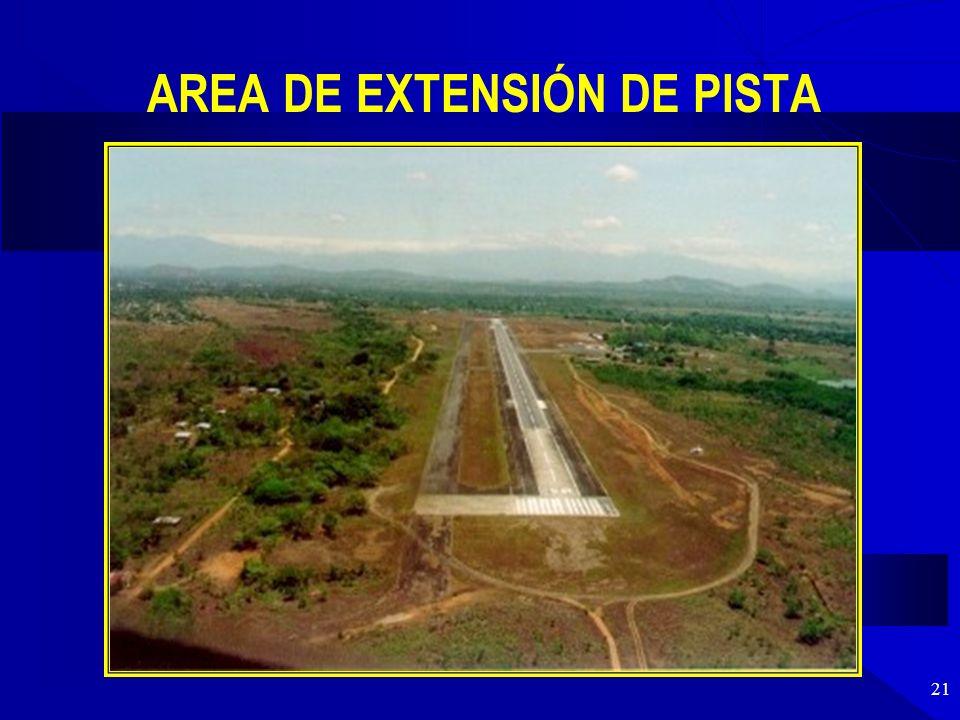 AREA DE EXTENSIÓN DE PISTA