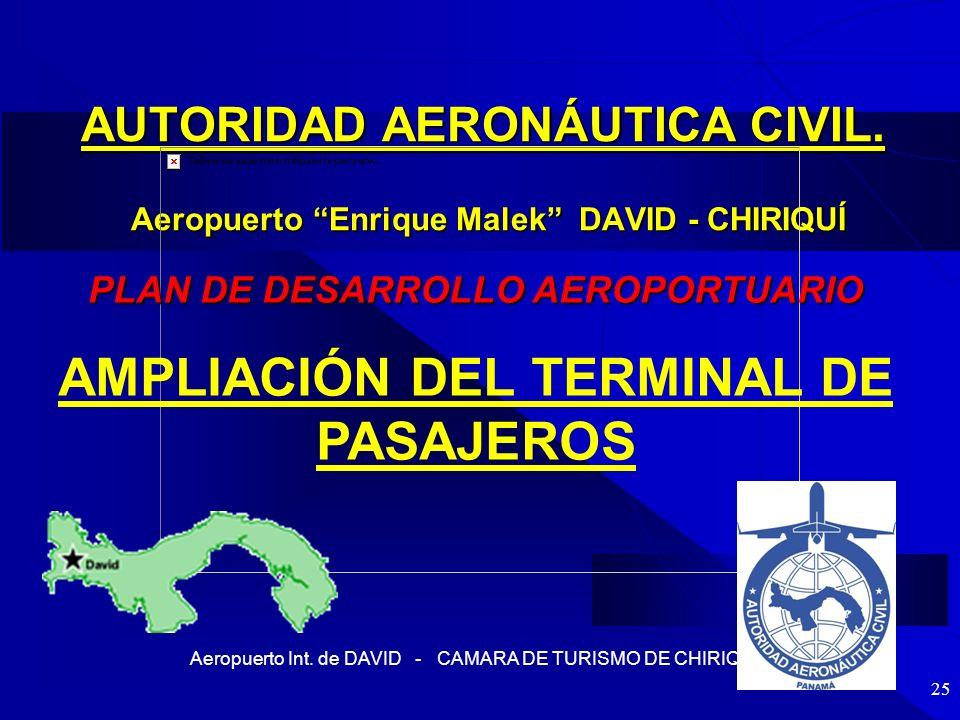 PLAN DE DESARROLLO AEROPORTUARIO AMPLIACIÓN DEL TERMINAL DE PASAJEROS