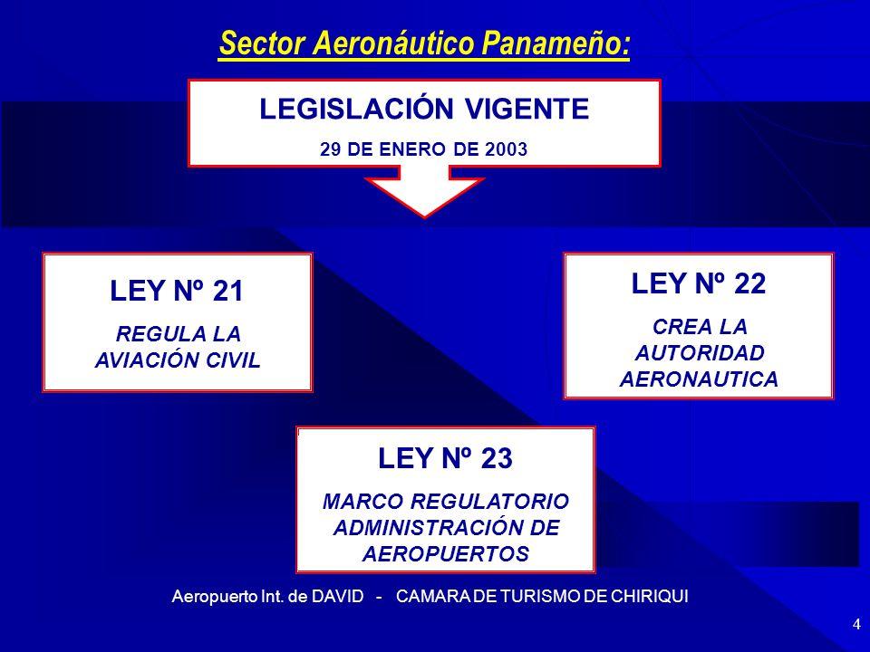 Sector Aeronáutico Panameño:
