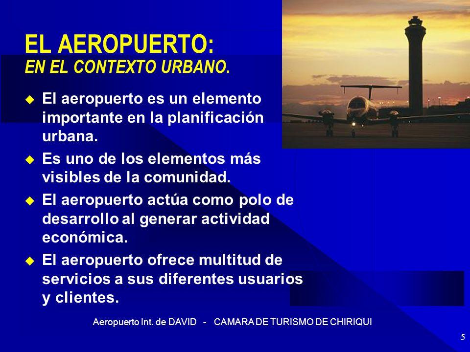 EL AEROPUERTO: EN EL CONTEXTO URBANO.