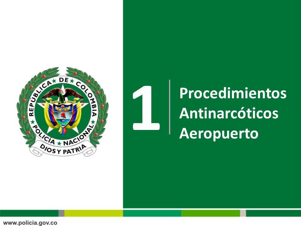 1 Procedimientos Antinarcóticos Aeropuerto