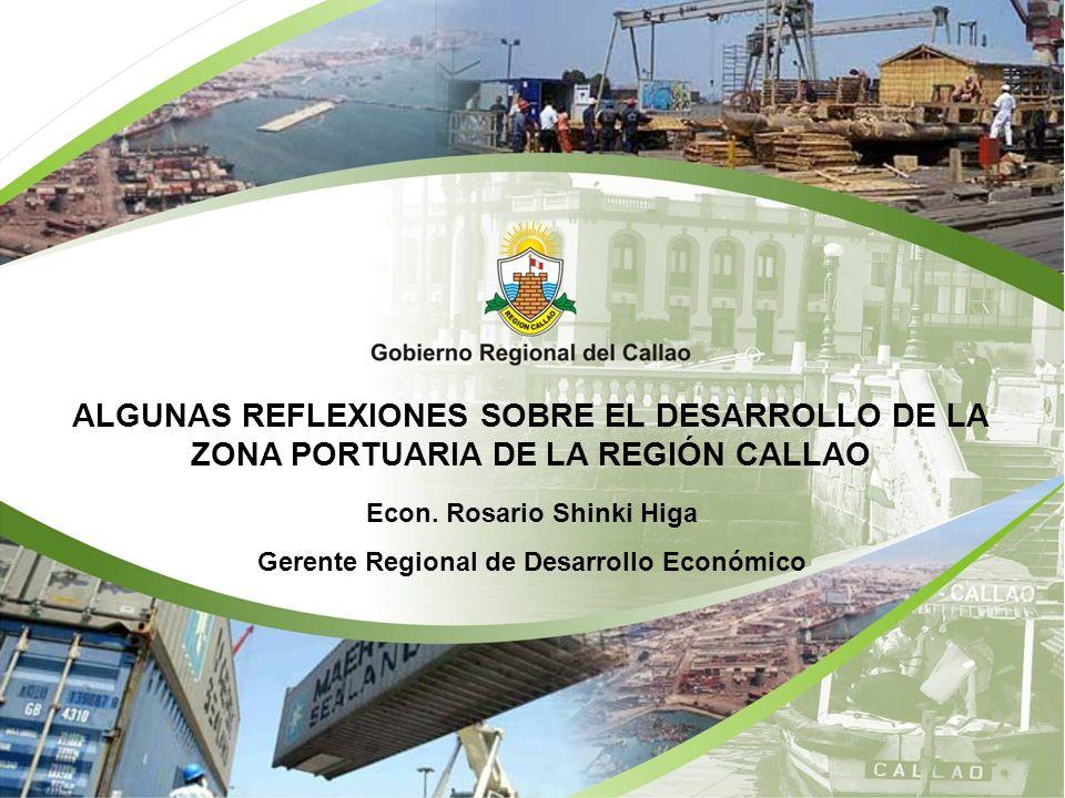Econ. Rosario Shinki Higa Gerente Regional de Desarrollo Económico