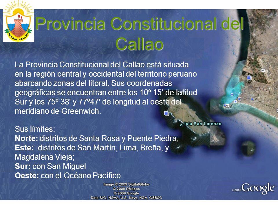 Provincia Constitucional del Callao