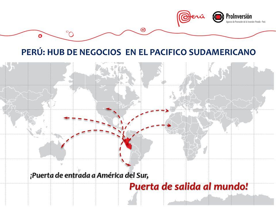 PERÚ: HUB DE NEGOCIOS EN EL PACIFICO SUDAMERICANO