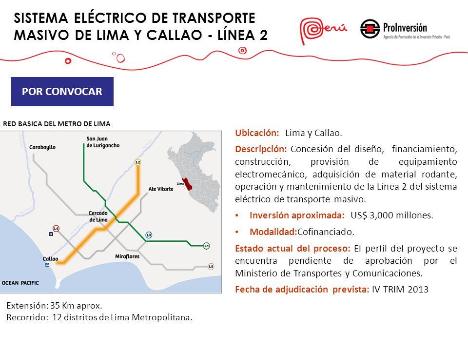 SISTEMA ELÉCTRICO DE TRANSPORTE MASIVO DE LIMA Y CALLAO - LÍNEA 2