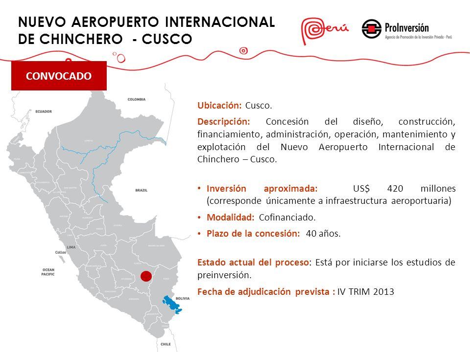 NUEVO AEROPUERTO INTERNACIONAL DE CHINCHERO - CUSCO
