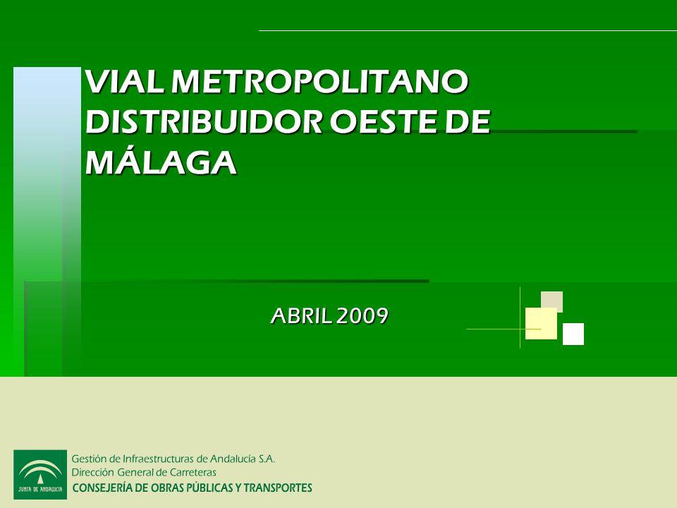 VIAL METROPOLITANO DISTRIBUIDOR OESTE DE MÁLAGA