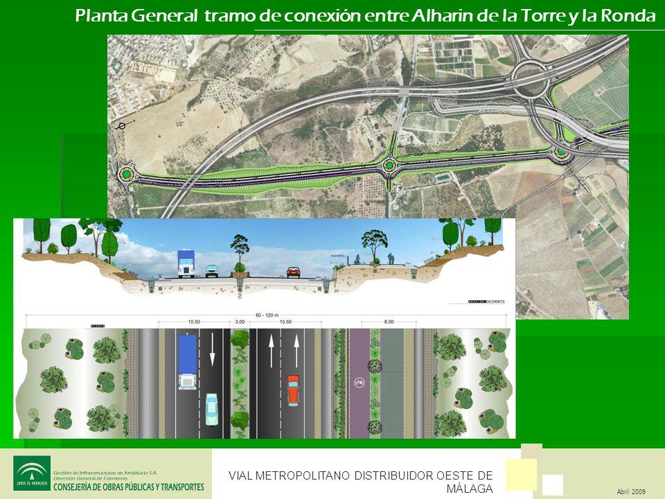 Planta General tramo de conexión entre Alharin de la Torre y la Ronda