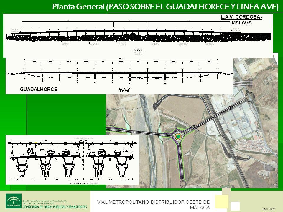 Planta General (PASO SOBRE EL GUADALHORECE Y LINEA AVE)