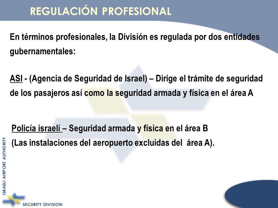 REGULACIÓN PROFESIONAL