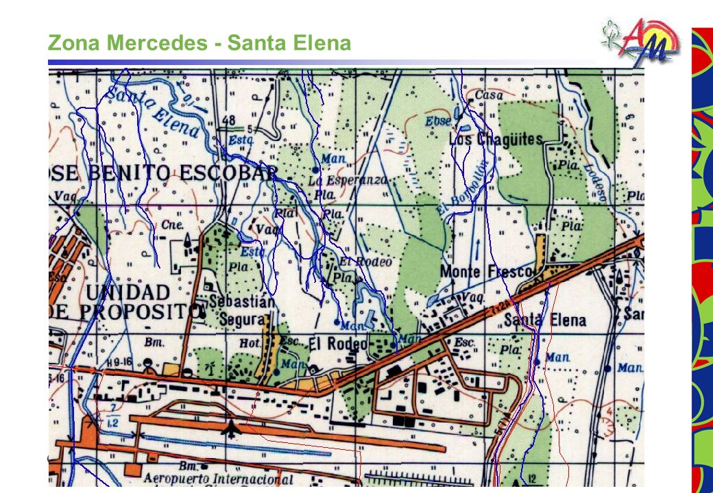 Zona Mercedes - Santa Elena