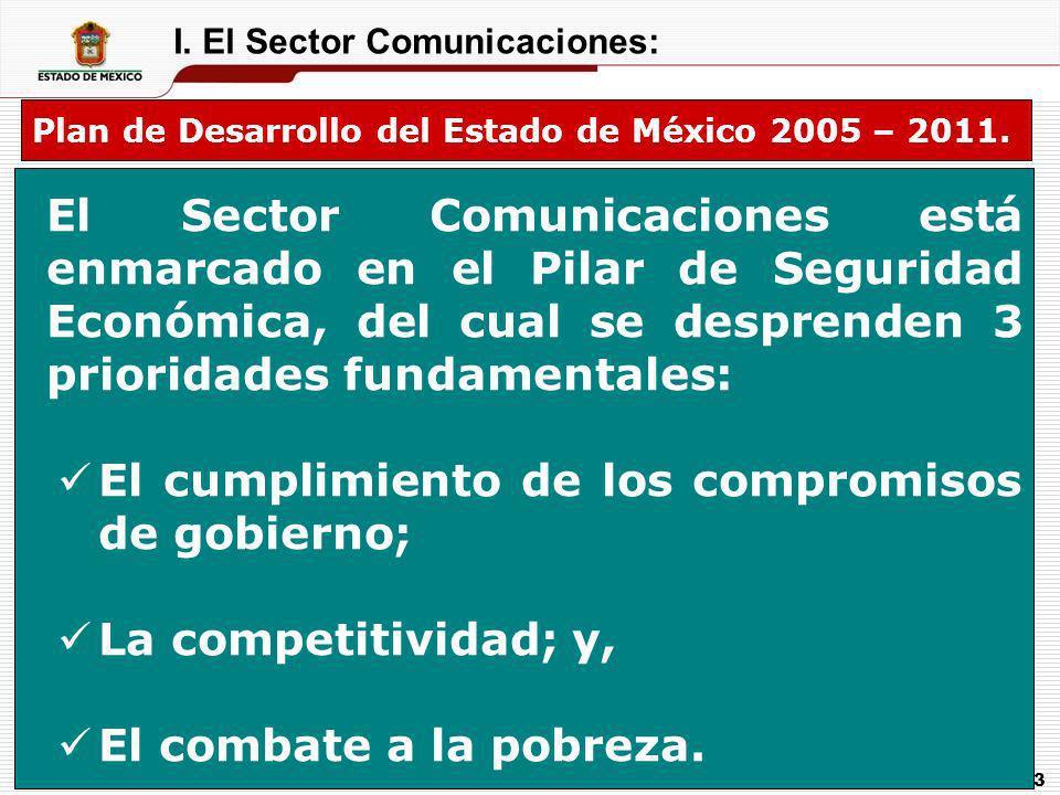 I. El Sector Comunicaciones: