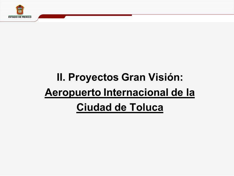 II. Proyectos Gran Visión: Aeropuerto Internacional de la
