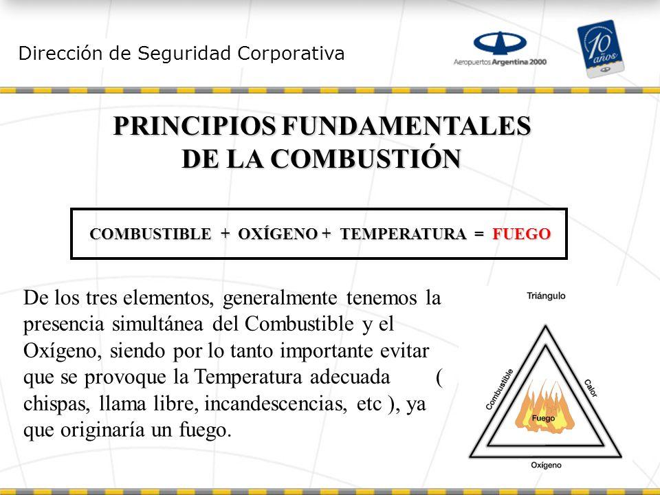 PRINCIPIOS FUNDAMENTALES DE LA COMBUSTIÓN