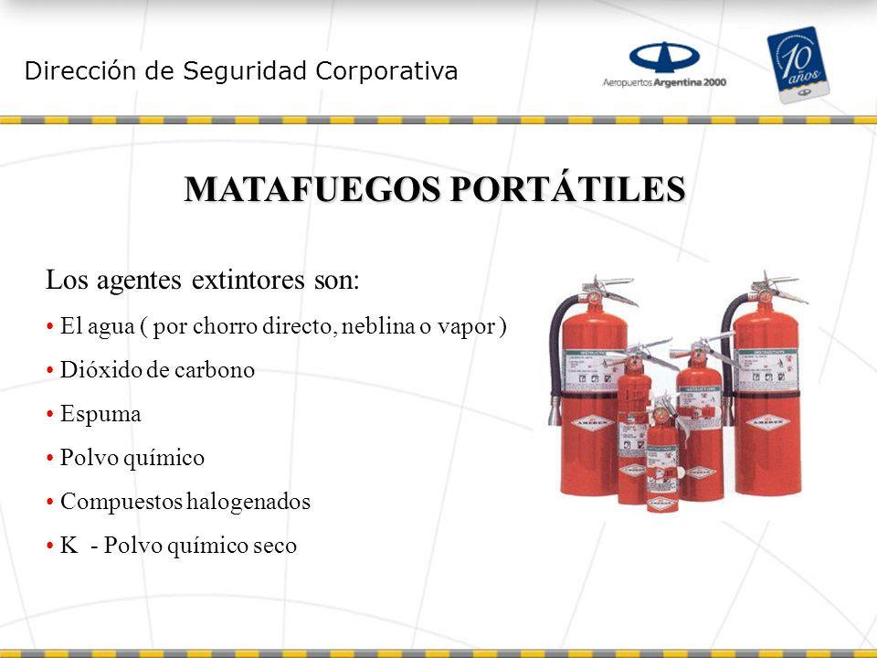 MATAFUEGOS PORTÁTILES