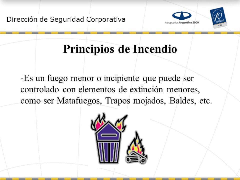 Principios de Incendio