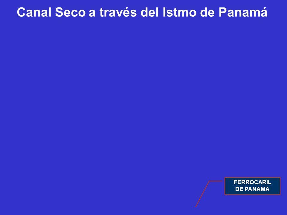 Canal Seco a través del Istmo de Panamá