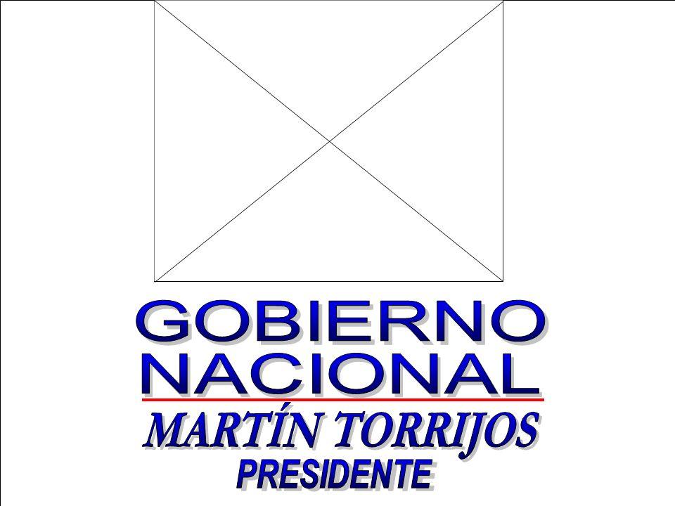 PRESIDENTE MARTÍN TORRIJOS GOBIERNO NACIONAL