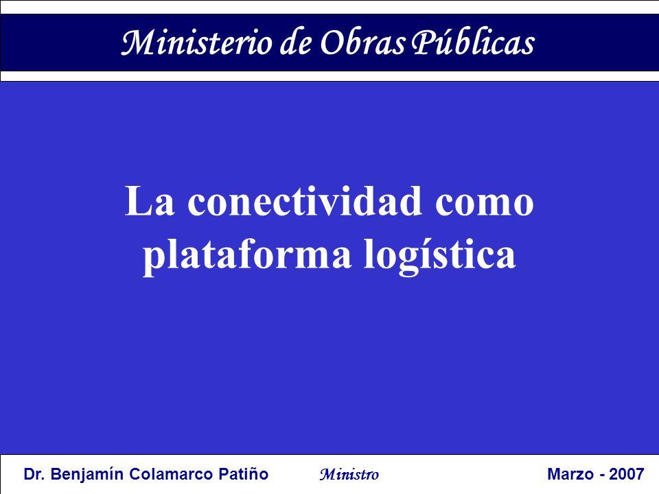 La conectividad como plataforma logística