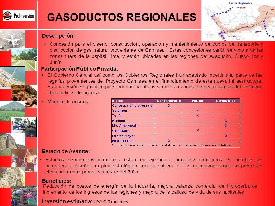 GASODUCTOS REGIONALES
