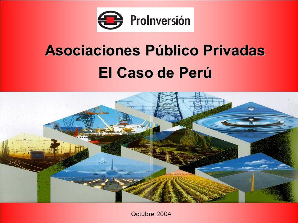Asociaciones Público Privadas