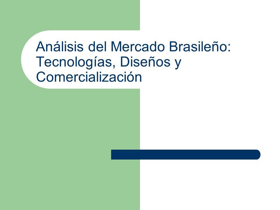 Análisis del Mercado Brasileño: Tecnologías, Diseños y Comercialización