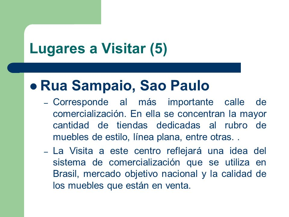 Lugares a Visitar (5) Rua Sampaio, Sao Paulo