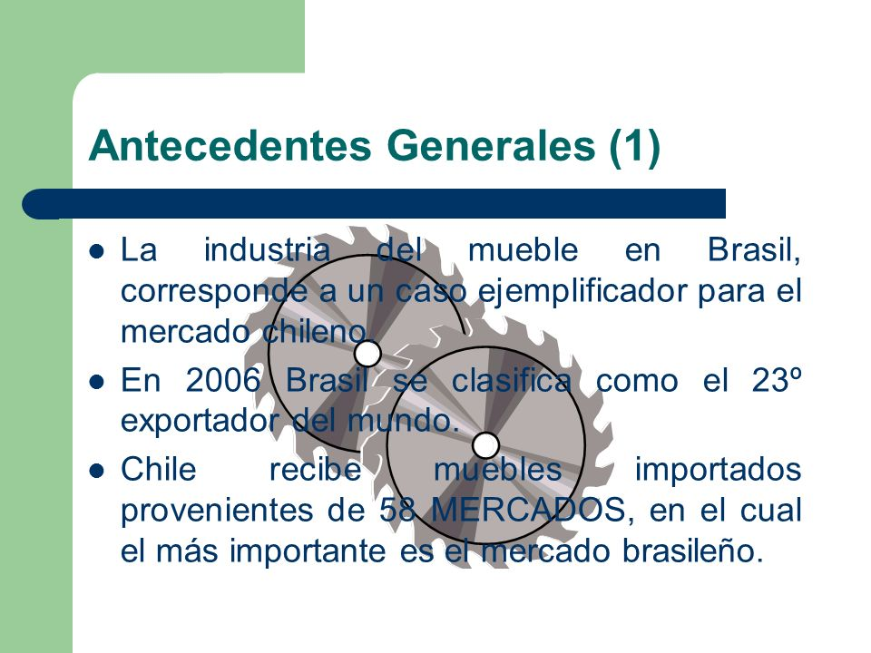 Antecedentes Generales (1)
