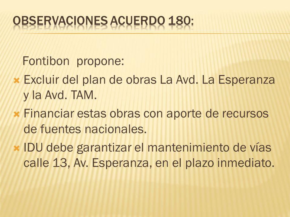 Observaciones acuerdo 180: