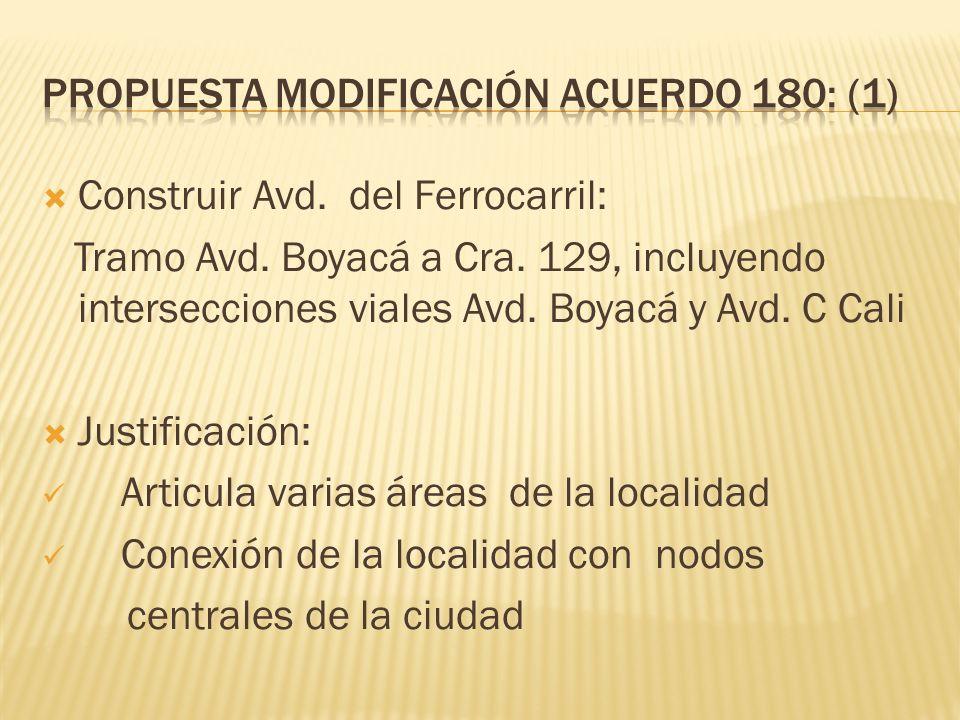 Propuesta modificación acuerdo 180: (1)