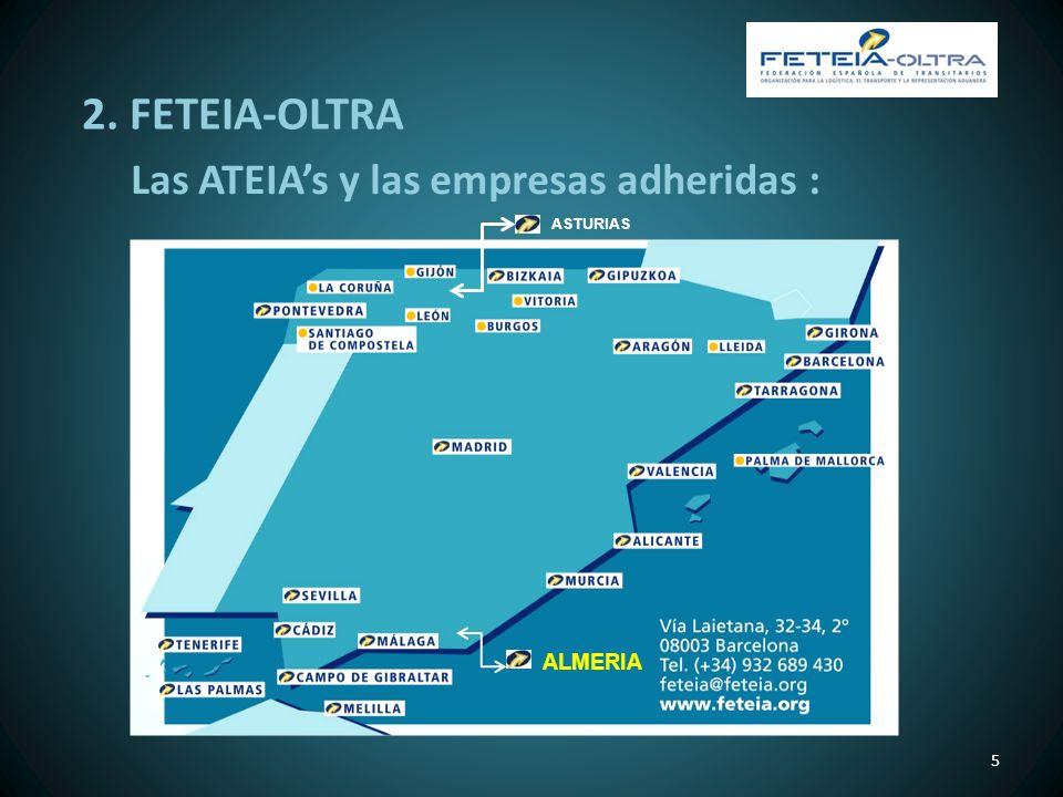 2. FETEIA-OLTRA Las ATEIA's y las empresas adheridas : ASTURIAS