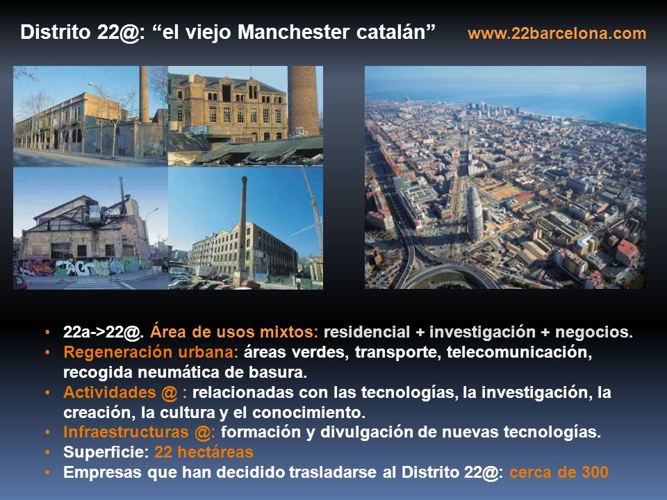 Distrito 22@: el viejo Manchester catalán www.22barcelona.com