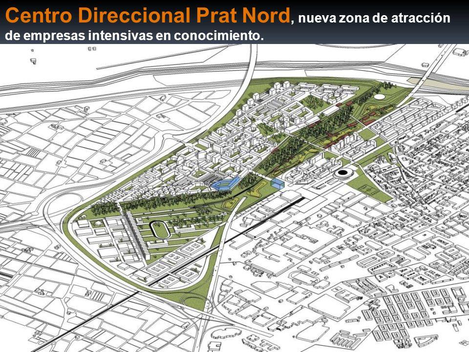Centro Direccional Prat Nord, nueva zona de atracción de empresas intensivas en conocimiento.